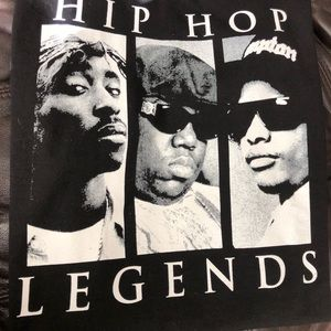 Hip Hop Legends Shirt XL